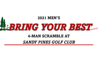 Men's Bring Your Best 4-Man Scramble Sign-up Info